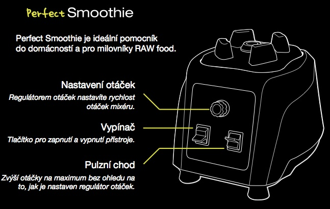 Perfect Smoothie nastavení